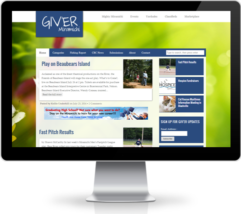 Giver Website Design and Development