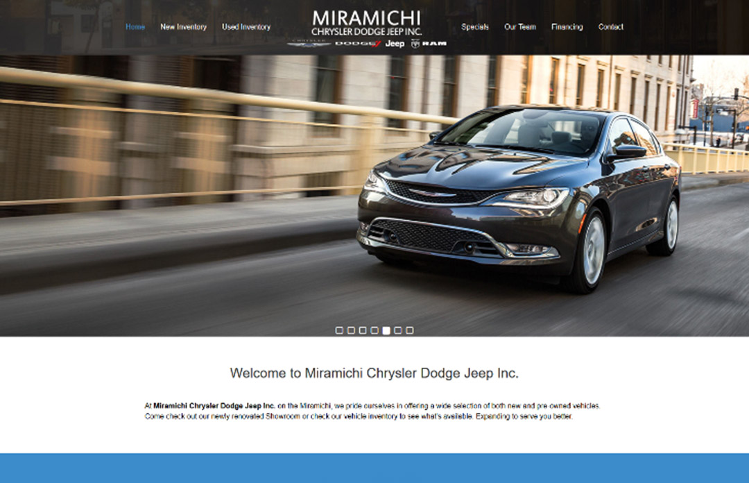 Miramichi Chrysler Dodge Jeep Inc