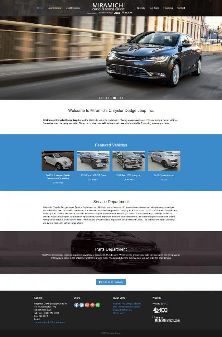 Miramichi Chrysler Dodge Jeep Inc